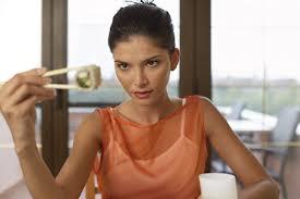 woman eat