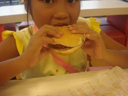 child hamburger
