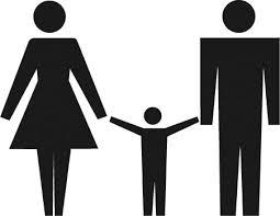 family pour