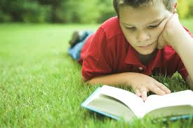 child read book