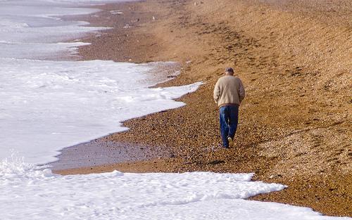 walking old