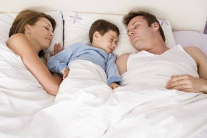 family sleep