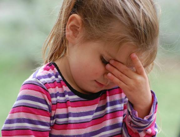 stressed children