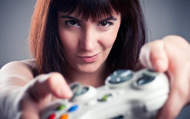woman videog