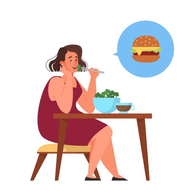 woman-choose-healthy-junk-food-calorie-control-diet-concept-idea-weight-loss-illustration_277904-4087